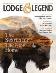 Lodge and Legend: Volume 2 • Issue 1