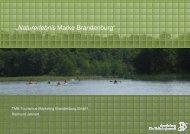 """Vortrag """"Naturerlebnis Marke Brandenburg"""""""