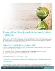 Existing Home Sales Report Indicates Now is a Great Time to Sell
