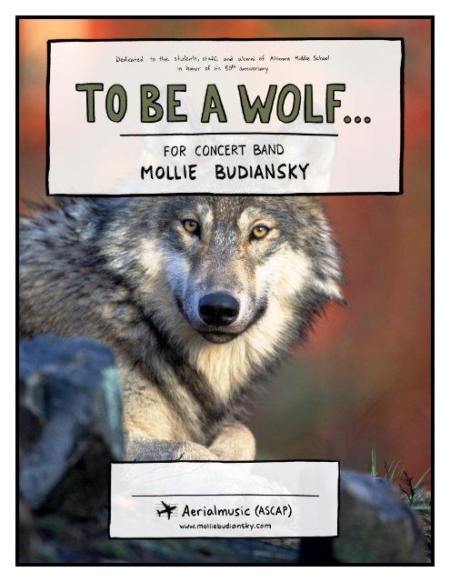To Be a Wolf - Mollie Budanisky
