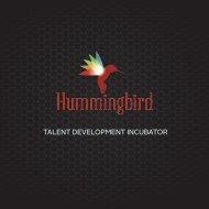 Hummingbird Music - Investor Deck (Final)