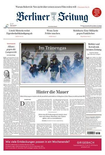 Berliner Zeitung 19.11.2019
