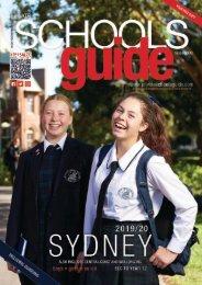 Private Schools Guide Sydney 2019/20