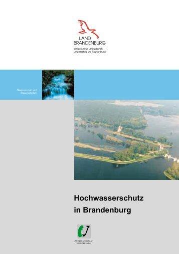 Hochwasserschutz in Brandenburg - MUGV - Brandenburg.de