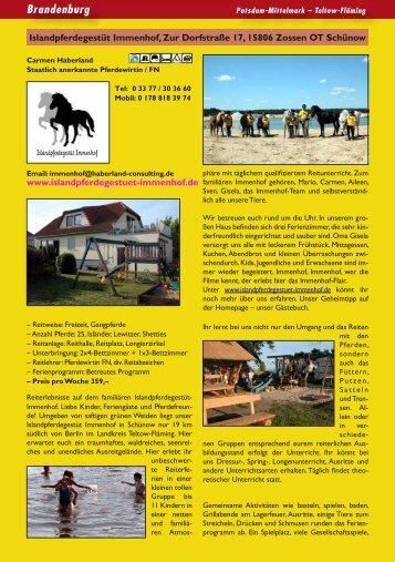 Pferdewirt Ausbildung  Island