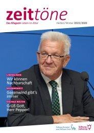 Zeittöne Herbst/Winter 2019/2020 - Stiftung Liebenau