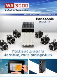 WA3000 Industrial Automation November 2019 - deutschsprachige Ausgabe