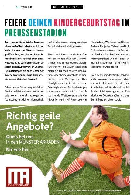 nullsechs Stadionmagazin - Heft 5 2019/20