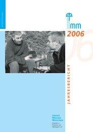 jahresbericht 2006 - Innere Mission München