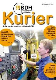 Ausgabe 9/10 2010 - BDH
