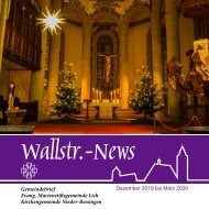 Wallstr. News 2020 1
