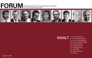 4iMEDIA/ Statementmagazin FORUM | Agentur ... - BewegtesBild.de