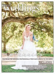 Real Weddings Magazine-The Planning Guide-2020 - Expert Advice, Guest Lists, Wedding TimeLine, Budgets and the Best Sacramento, Tahoe and Northern California Wedding Vendors!