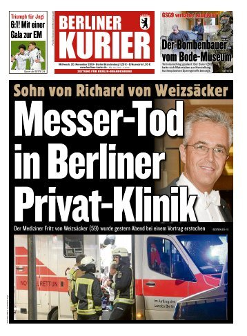 Berliner Kurier 20.11.2019