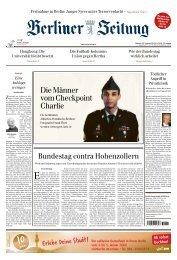 Berliner Zeitung 20.11.2019