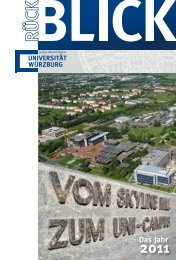 das Jahr 2011 (.pdf) - Universität Würzburg