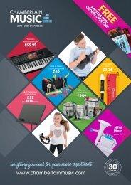 Chamberlain Music 2019/2020 UK Catalogue