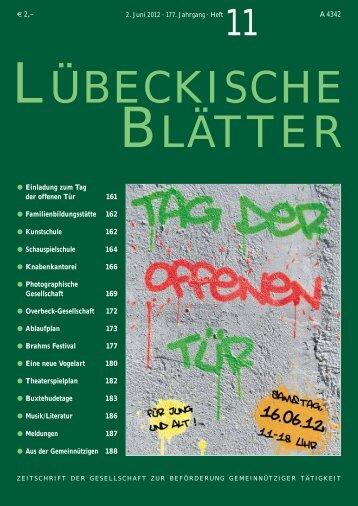 11_LB177.pdf - Lübeckische Blätter