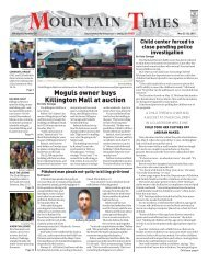 Mountain Times - Volume 48, Number 21: May 22-28, 2019