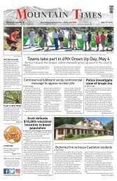 Mountain Times - Volume 48, Number 18 - May 1-7, 2019