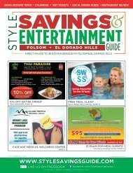 Style Savings and Entertainment Guide: December 2019