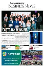 BAY OF PLENTY BUSINESS NEWS DECEMBER 2019