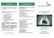 Erziehungsmediation - Innere Mission München
