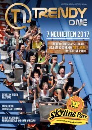 TRENDYone | Das Magazin - Allgäu - April 2017