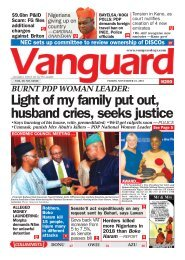 22112019 - BURNT PDP WOMAN LEADER: Light of my family put out, husband cries, seeks justice