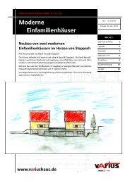 HAUS 5 + 6 - Ulrich Reitenberger Bau GmbH und Varius Massivbau