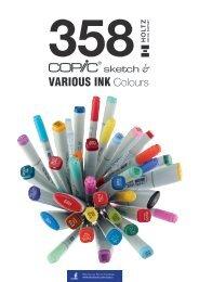COPIC 358 colours prospect 01/2016