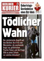 Berliner Kurier 22.11.2019