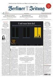 Berliner Zeitung 22.11.2019