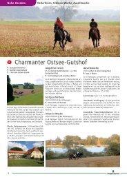 Charmanter Ostsee-Gutshof - Pferd & Reiter