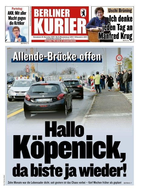 Berliner Kurier 23.11.2019
