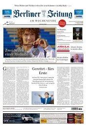 Berliner Zeitung 23.11.2019