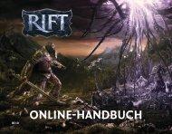 ONLINE-HANDBUCH - Rift
