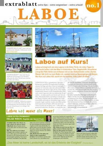 extrablatt LABOE 2012 - Fischküche Laboe