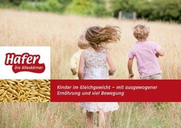 Kinder im Gleichgewicht – mit ausgewogener ... - alleskoerner.de