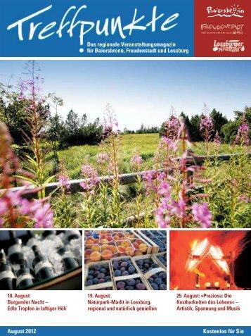 Ausgabe August 2012 - Appartementhaus Schwarzwaldgrund ...