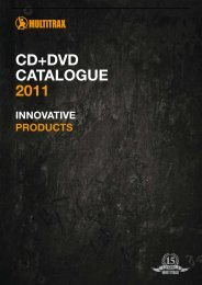 cd+dvd catalogue 2011 - Pro Tempo