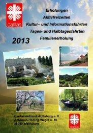 Prospekt 2013 (PDF-Dokument) - Caritas Wolfsburg