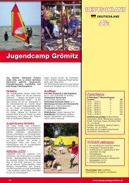 Jugendcamp Grömitz - Voyage Gruppenreisen
