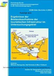 (Oder-) Haff Ostsee Pommersche Bucht - IKZM-Oder