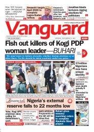 25112019 - Fish out killers of Kogi PDP woman leader—BUHARI
