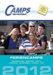 Feriencamps Katalog 2012 - Camps International