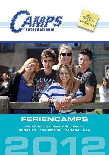 Feriencamps Katalog 2012 - Camps International