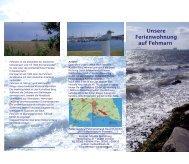 an der Ostsee auf Fehmaarn Unsere Ferienwohnung auf Fehmarn