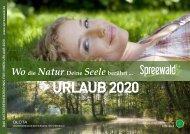 Urlaubsmagazin Spreewald 2020