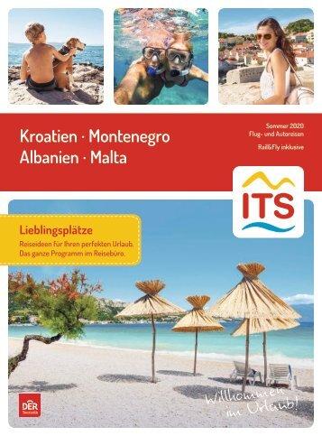 Kroatien-Montenegro-Albanien-Malta